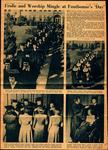 CSJ Traditions: Founders' Day Newspaper Article, 1950 by Fontbonne College