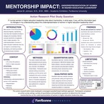 Mentorship Impact: Underrepresentation of Women in Higher Education Leadership by Janice M. Johnson