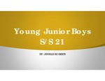 Spring/Summer 2021: Young Junior Boys by Jenelle Roberts