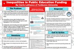 Inequalities in Public Education Funding by Carrie LaChance
