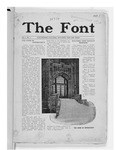 The Font: October 1, 1926 by Fontbonne College