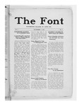 The Font: November 5, 1926 by Fontbonne College