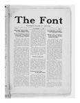The Font: November 12, 1926 by Fontbonne College
