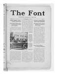 The Font: November 19, 1926 by Fontbonne College