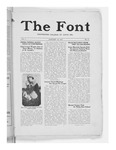 The Font: January 18, 1927 by Fontbonne College