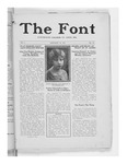 The Font: January 26, 1927 by Fontbonne College