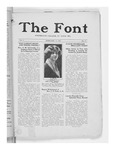 The Font: February 17,1927 by Fontbonne College