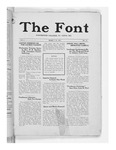 The Font: March 14, 1927 by Fontbonne College