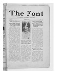The Font: March 25, 1927 by Fontbonne College