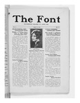 The Font: May 27, 1927 by Fontbonne College