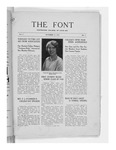 The Font: October 15, 1927 by Fontbonne College