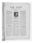 The Font: November 1, 1927 by Fontbonne College