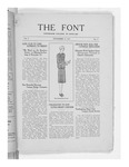 The Font: November 15, 1927 by Fontbonne College