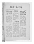 The Font: December 1, 1927 by Fontbonne College