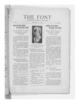 The Font: January 15, 1928 by Fontbonne College