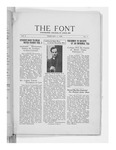 The Font: February 1, 1928 by Fontbonne College
