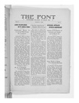 The Font: March 1, 1928