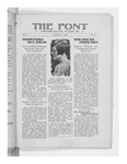 The Font: March 31, 1928