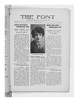 The Font: May 1, 1928 by Fontbonne College