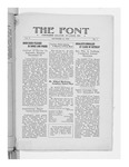 The Font: December 19, 1928 by Fontbonne College