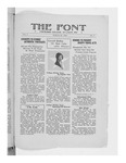 The Font: March 26, 1929 by Fontbonne College