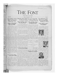 The Font: November 9, 1934 by Fontbonne College
