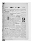 The Font: November 8, 1935 by Fontbonne College