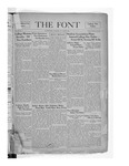 The Font: October 15, 1937 by Fontbonne College