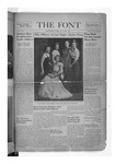 The Font: February 25, 1938 by Fontbonne College