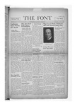 The Font: October 18, 1939 by Fontbonne College