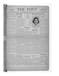 The Font: January 19, 1940 by Fontbonne College