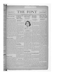 The Font: March 15, 1940 by Fontbonne College