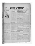 The Font: October 15, 1940 by Fontbonne College