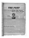 The Font: November 20, 1940 by Fontbonne College