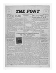 The Font: January 16, 1942 by Fontbonne College
