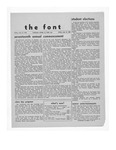 The Font: May 14, 1943 by Fontbonne College