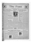 The Font: October 15, 1943 by Fontbonne College