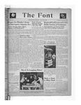 The Font: January 27, 1944 by Fontbonne College