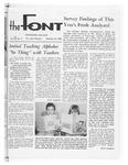 The Font: February 29, 1968