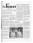 The Font: April 22, 1968
