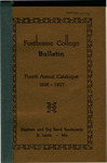 General Education Requirements: Sister Mary Lucida Savage's Fontbonne College Bulletin (Fourth Annual Catalogue), 1926-1927 by Fontbonne University Archives