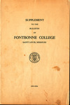 General Education Requirements: Bulletin of Fontbonne College, 1933-1934 by Fontbonne University Archives