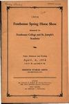 1st Fontbonne Spring Horse Show