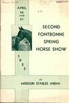 2nd Fontbonne Spring Horse Show