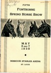 5th Fontbonne Spring Horse Show by Fontbonne College