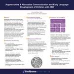 Augmentative & Alternative Communication and Early Language Development of Children with ASD