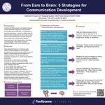 From Ears to Brain: 5 Strategies for Communication Development by Katherine R. Sosna