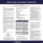 Patient-Provider Communication in Inpatient AAC