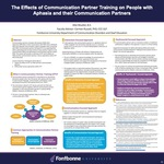 The Effects of Communication Partner Training on People with Aphasia and their Communication Partners by Allie Irene Mueller