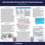 Early Intervention: The Use of AAC/AT in Preschool Classrooms by Lucy Guiffrida